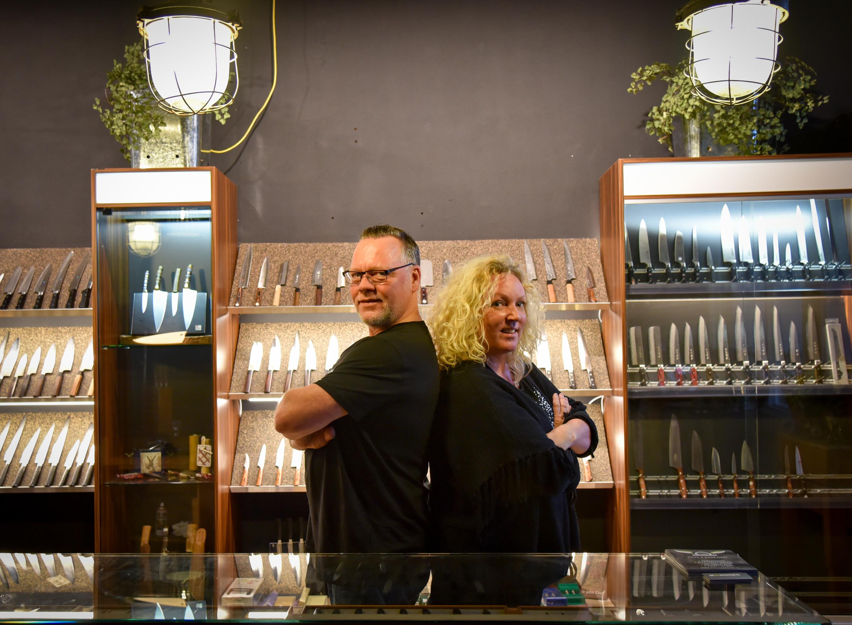 Roderick Rijsdam, Koksmes expert, food love stories