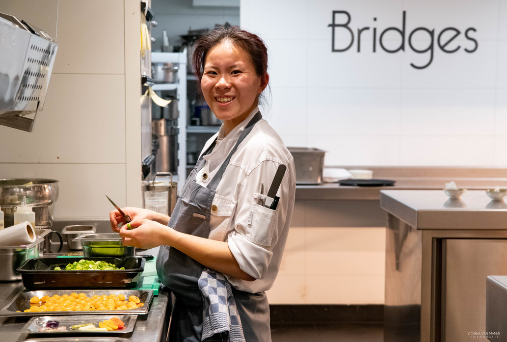 Bridges Amsterdam, Raoul Meuwese, Pascal Duvivier, Foodlovestories, uit eten Amsterdam, chefstable Bridges